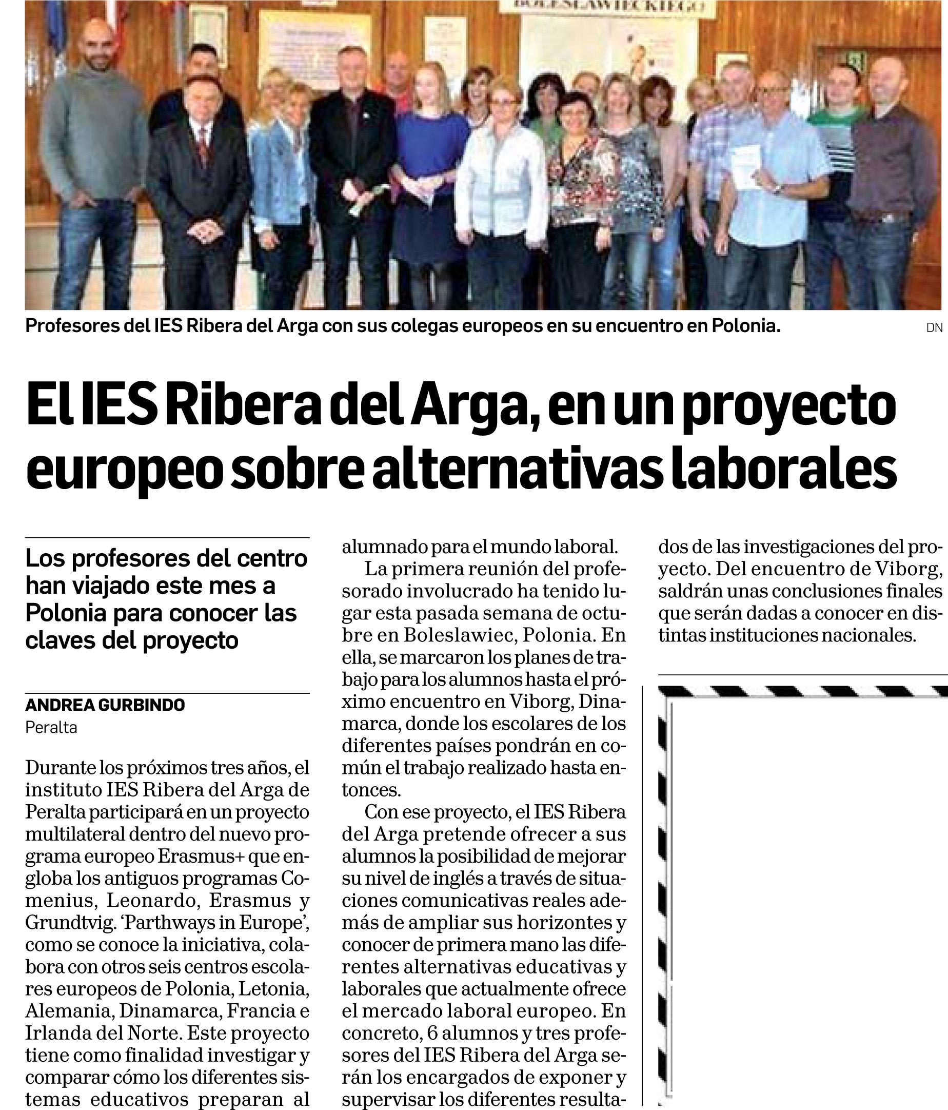 20141015 - Diario de Navarra - Tafalla - pag 35