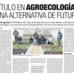 Jornada de puertas abiertas. Producción Agroecológica.