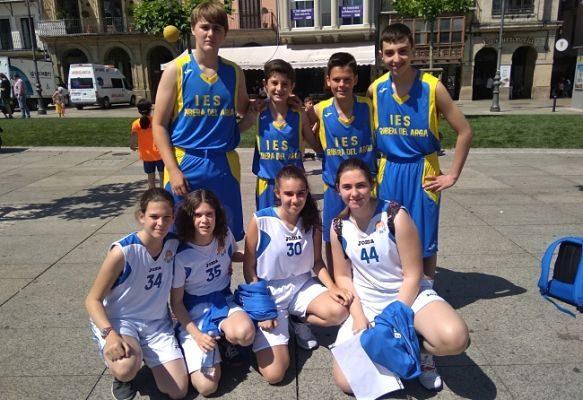 Campeonato navarro de baloncesto escolar 3×3