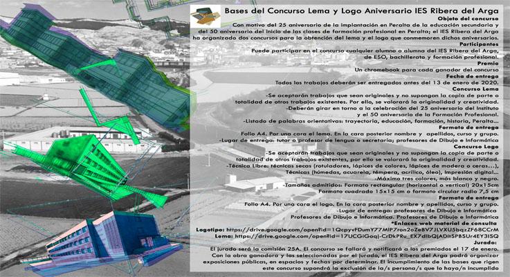Concurso Lema y Logo IES Ribera del Arga