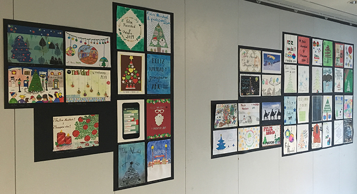 Concurso Postal de Navidad IES Ribera del Arga