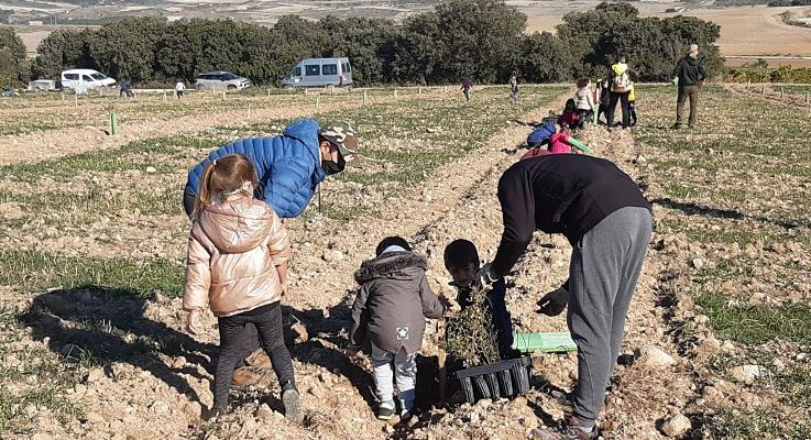 EL ALUMNADO DE AGRARIA PARTICIPA EN UN PROYECTO DE RECUPERACIÓN MEDIOAMBIENTAL